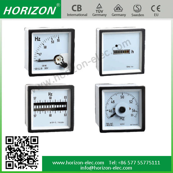 96 Type analog frequency meter Hz meter