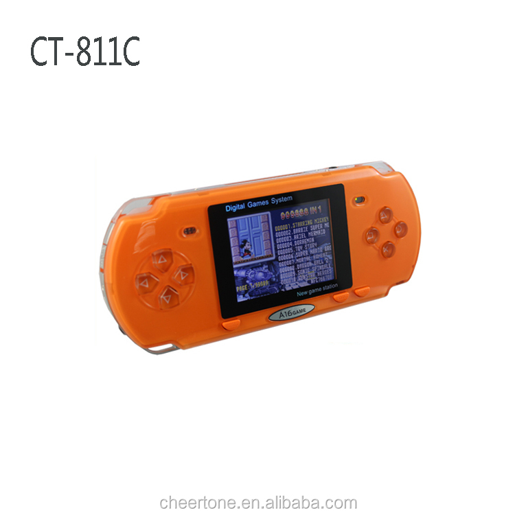 8bit pvp pocket game console