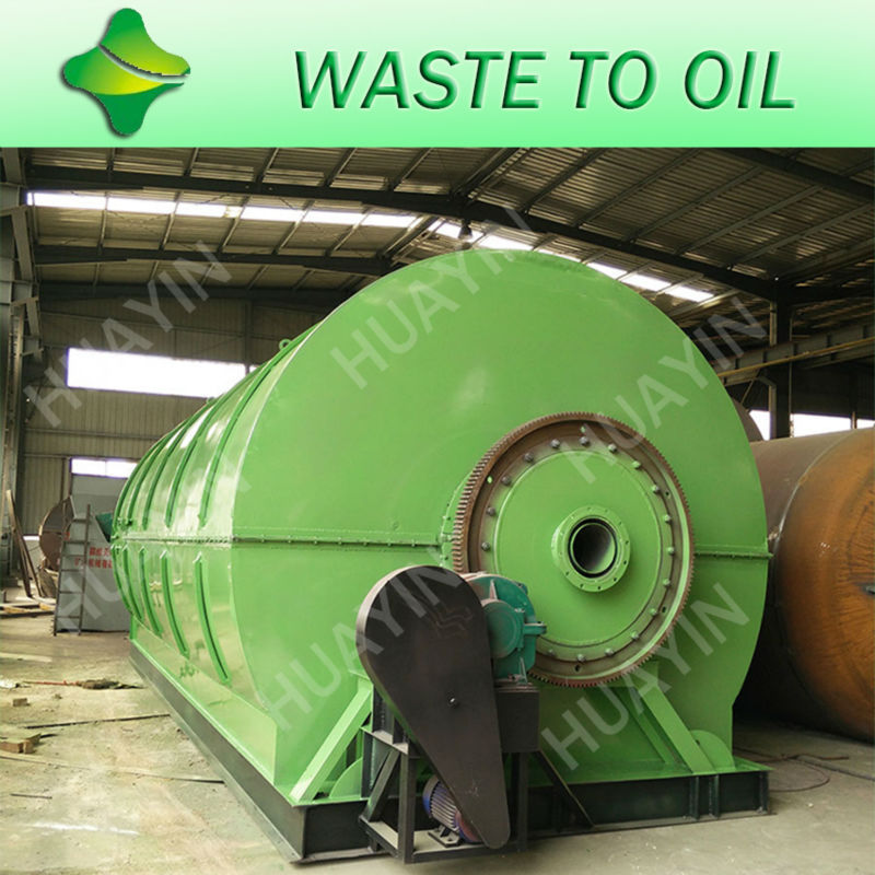 Stainless Steel Waste Rubber Plastic Mini Pyrolysis Plant To Oil With CE,SGS,ISO