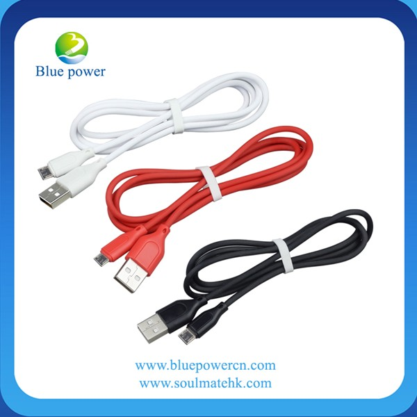 Micro usb data cable sync charge cord for samsung 24awg usb cable magnetic usb cable