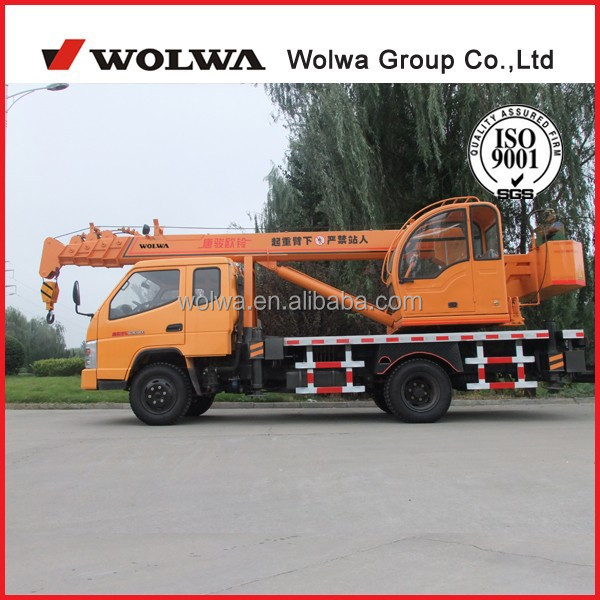 micro 8 ton crane for export truck crane GNQY-3200