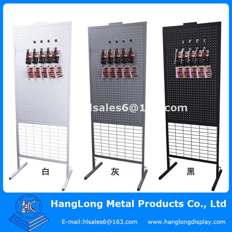 metal free standing rotating lipstick display rack
