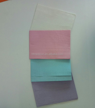 Hot sales of Dental material Disposable Dental Bibs, dental bibs for adult