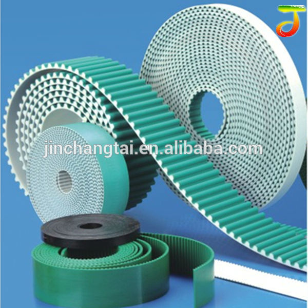 Seamless or joint Chinese brand AT20 PU timing belt accept specially customize