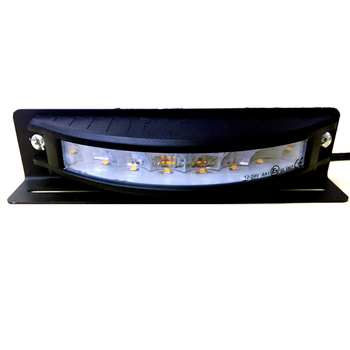 Multi Voltage 코너 Suface 잘 고정 된 Amber Blue LED 스트로브 Head 180 Degree Heavy Duty 트럭 스트로브 빛