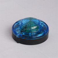 AA battery powered LED magnetic flashing lights