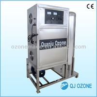 swimming pool ozone generator | booster pump and ozone water mixing tank | pool water ozone sterilizer