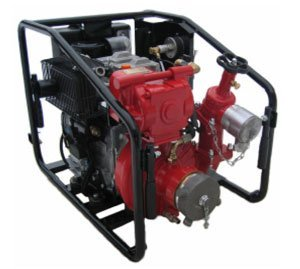 JOHSTADT FIRE FIGHTING PUMP TYPE ZL 400D