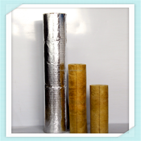 120kg/m3 Heat Preservation Energy-saving Rock Wool Pipe Insulation