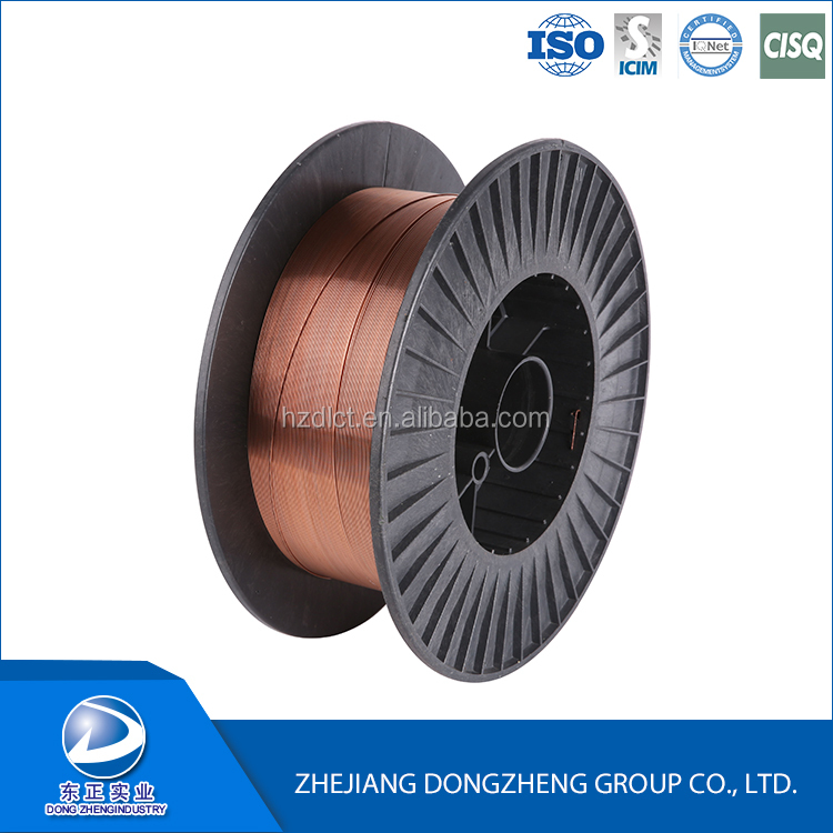copper, copper alloy mig wire material A5.18 ER70S-6 CO2 welding wire