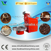 Chinese Industrial Gas Roasted White Coffee Bean Roaster Machine