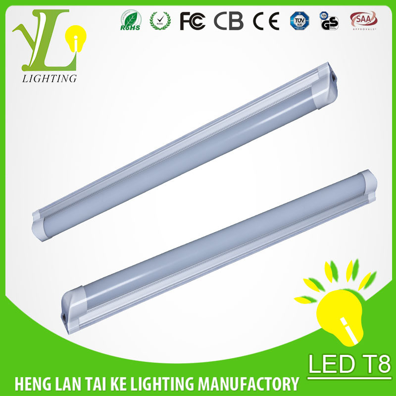 1200mm T5 integrated plastic extruded led tube components