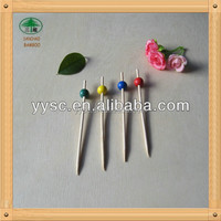 Party Decoration Sticks, Bamboo Disposable Sticks