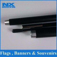 buy flag accessories,wholesale flexibility durable aluminium telescopic feather banner pole