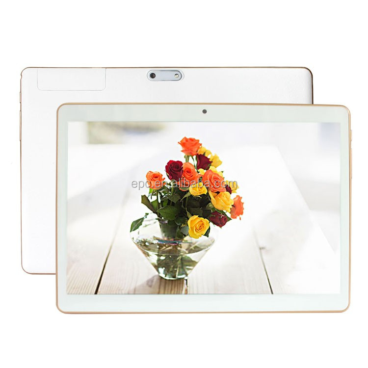 9.6 inch Tablet Pc 1280*800 IPS Android 5.1 OS MTK6580 Quad Core 1GB RAM 32GB WCDMA 3G Phablet GPS White Color