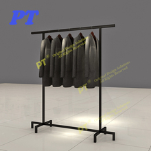 High Quality Metal Hanging Clothes Display Racks For Sale