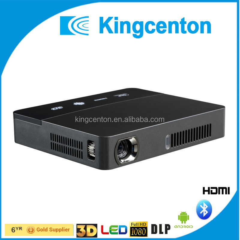 Most popular 1080p wireless VGA mini pc best projector android 3d