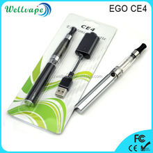 Cheapest price best quality 650mAh/900mAh/1100mAh battery ego c4 ecig ce4