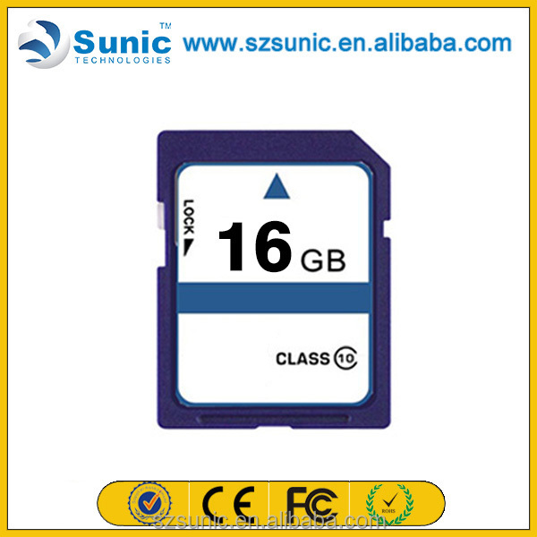 Factory supply new product original full capacity 1gb-128gb unlocked sd card