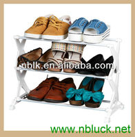 Modern Plastic 3 layer Stackable Shoe Rack