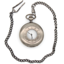Vintage See-though Quartz Pocket Watch