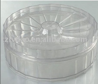 Plastic PS small circle gift Case