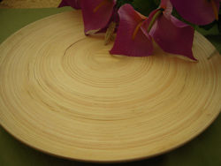 Natural Bamboo serving tray