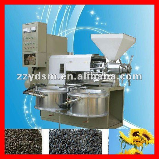 Helianthus Annuus (Sunflower) Seed Oil expeller/making /extraction machine