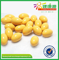 100% natural soybean extract powder soy isoflavone softgel Body building