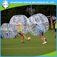2016 Fashionable sports entertainment inflatable human bubble soccer