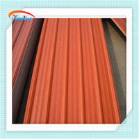 Alibaba PVC material terracotta roof tiles price for villa house for workshop