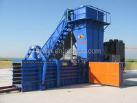 hydraulic automatic HPV-125 life rubbish baler