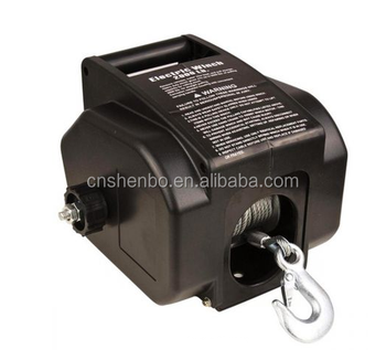 Electric Winch for Boat - 12V 2000LBS