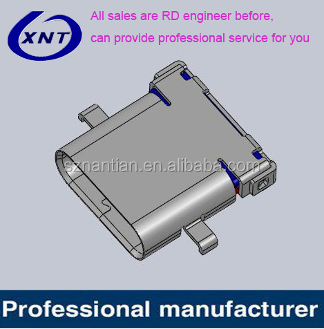 XNT-FUCR-247K-09BR 24pin high speed quality usb 3.1 sink type <strong>c</strong> connector