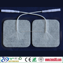 2015 popular 5X5cm Adhesive electrodes pads for tens unit