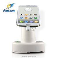 Big promotion!!!cell phone case card holder/phone charge holder/mobile phone charger display stand with alarm
