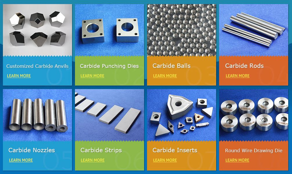 Competitive Price Superior Quality Tungsten Carbide Nozzles