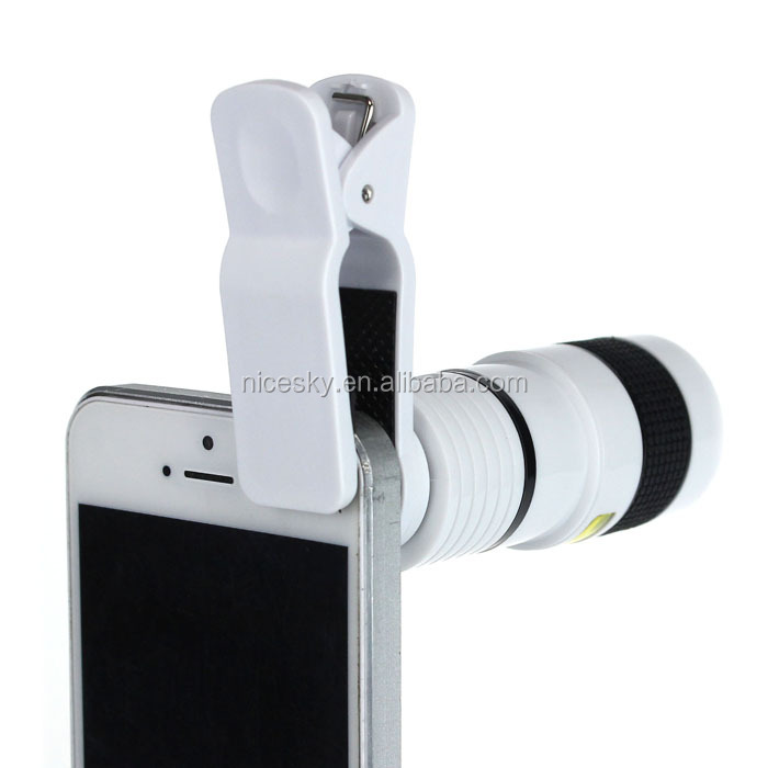8X Optical Zoom Telescope Camera Magnification Portable Optical Zoom Manual Focus Telescope Lens For Camera Mobile Cell Phone
