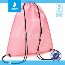 Small nylon drawstring bag for kids