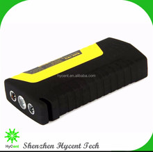 Portable Car Battery Jump Starter 12000mAh with SmartJump Technology - Combination Handheld Jump Box and Battery Charger