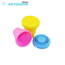 Factory Foldable Unbreakable Silicone Folding Tea Cups