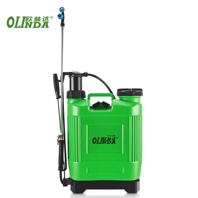 China best price agriculture 18L plastic knapsack manual weedicide farm spray machine types of knapsack sprayer