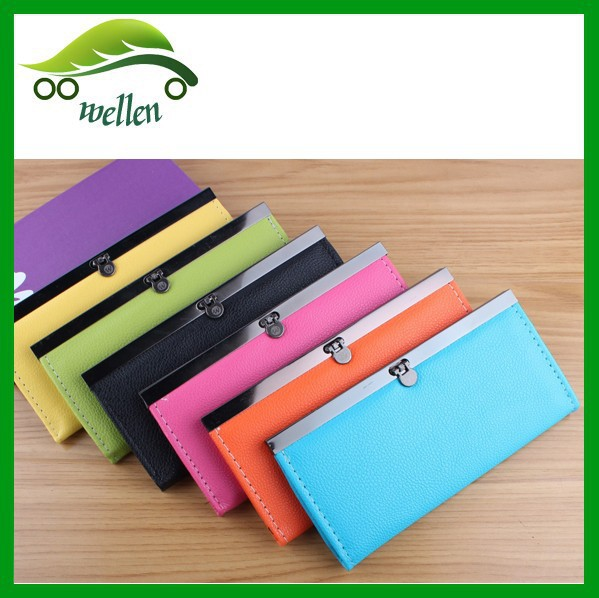 Wholesale Mix Order PU Leather Ladies Purse Women Wallet
