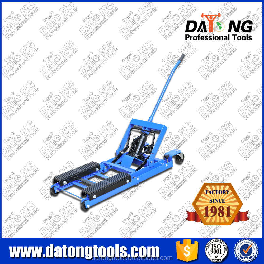 1500LB Rolling Motorcycle Floor Jack Lift ATV Jack
