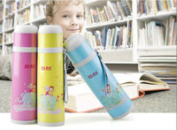 350ml 500ml Colored Stainless Steel Water Bottle BES-666