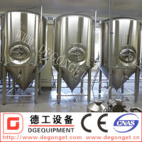 Used brewery stainless steel conical fermentation tank