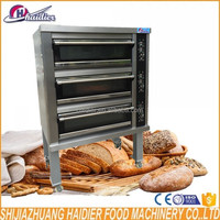 Oven for Baking Pastry Bakery Equipment Baking Machine Stone Steam Deck Oven Haidier