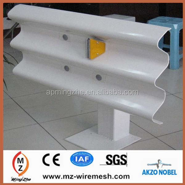 2014 hot sale W steel beam/crash barrier/highway guardrail board alibaba express