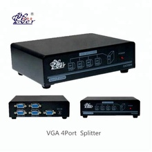 VGA 1*4 Splitter 1 input 4 output VGA switch Splitter