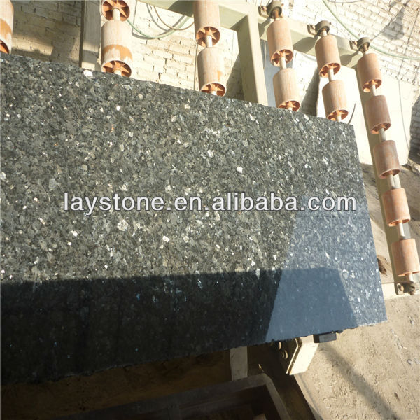Nice norwary dark granite blue pearl slab